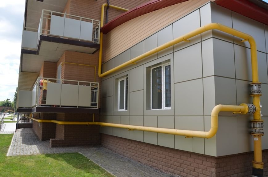 Газификация многоквартирных домов